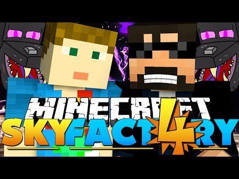 Minecraft: SkyFactory 4 - AUTO ENDER DRAGON FARM?! | Minecraft