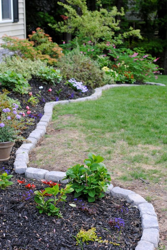 Backyard Garden Ideas With Bricks