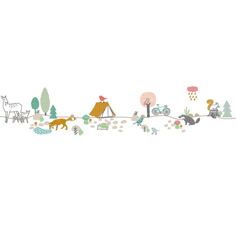 Bordure Kinderzimmer Auch Luxus Borduere Selbstklebend: Kinderzimmer Bordure Waldtiere