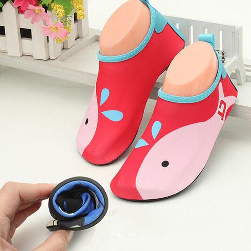 2016 Criancas Novas Barbatanas De Natacao Meias Mergulho Botas De Mergulho Neoprene Wetsuit Evitar Scratche O Water Shoes For Kids Water Sport Shoes Aqua Shoes