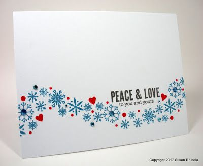 Peace Love Lost Found Christmas Card Inspiration Simple Cards Peace And Love