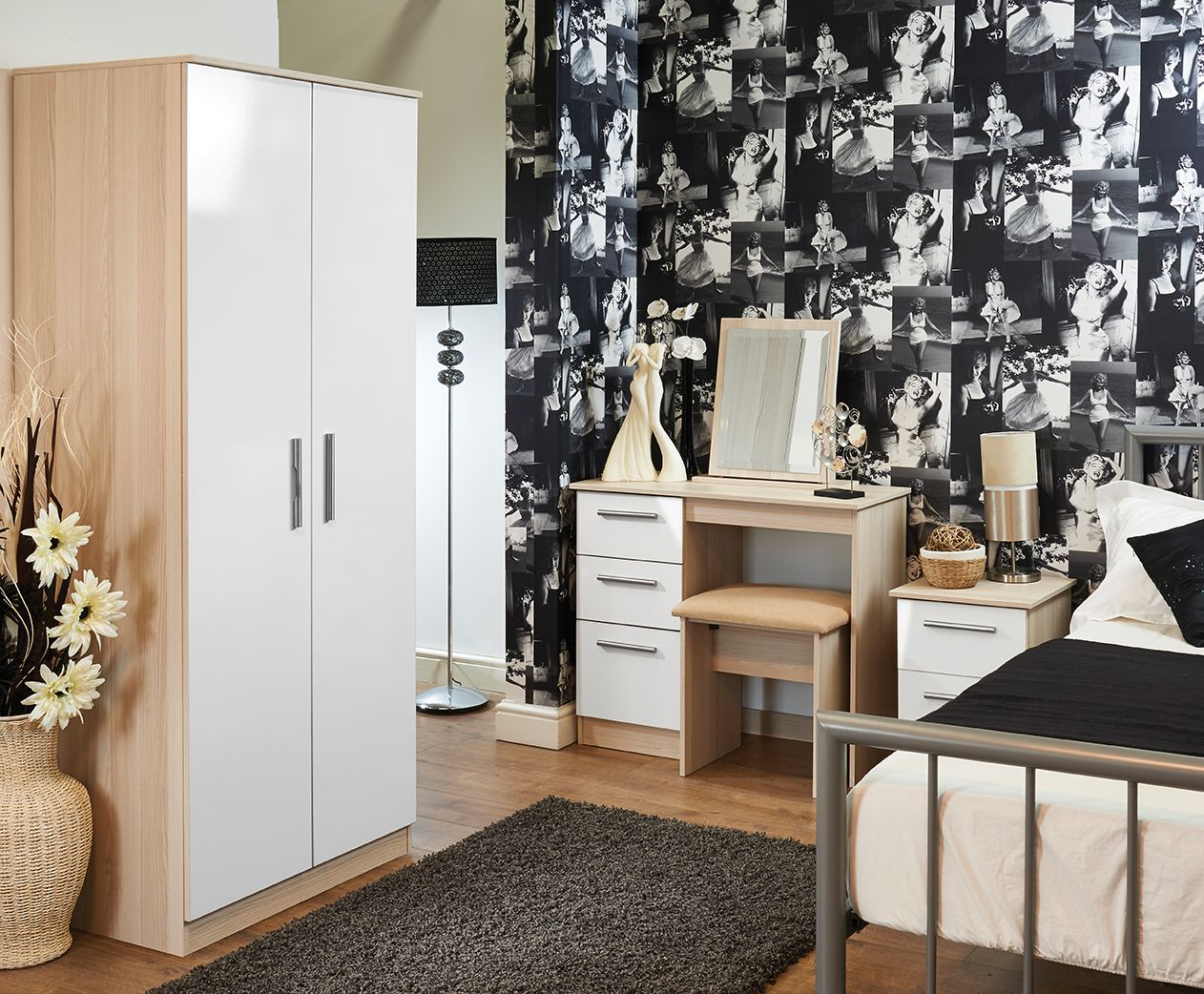 Pin By The Bedroom Shop Ltd On Contrast Bedroom Furniture  # Muebles Demeyere
