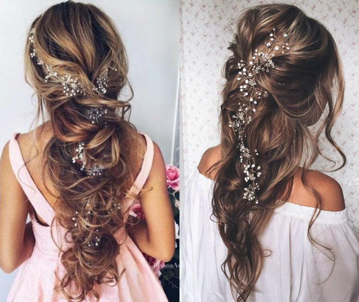 simply adorable prom hairstyles 2017 | jewel hair accessories