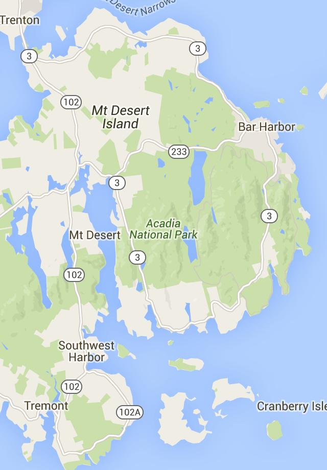 Acadia National Park Google Maps Adventures Acadia National
