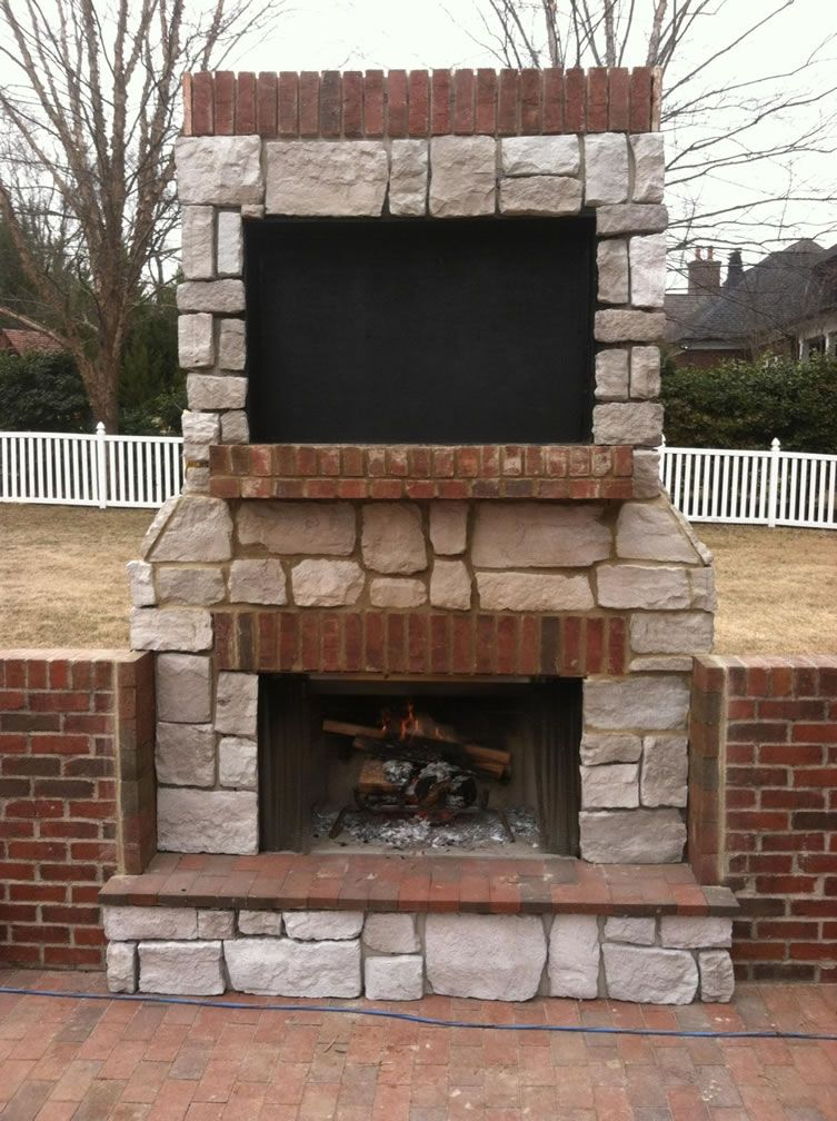 Superior 42 Inch Laredo Outdoor Wood Burning Fireplace With
