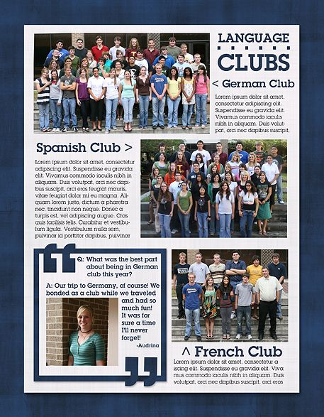Classroom Yearbook Ideas ~ Best yearbook design ideas on pinterest