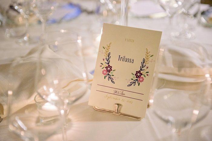 Wedding Table | Romantic Rome Garden wedding | Fab Mood