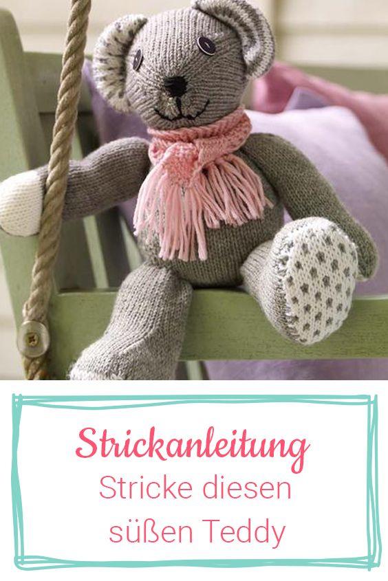 Photo of Strickanleitung für einen richtigen Teddy | Wunderweib