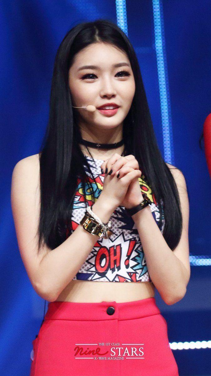 Chungha Ioi Kpop Girls Kpop Fashion Korean Girl