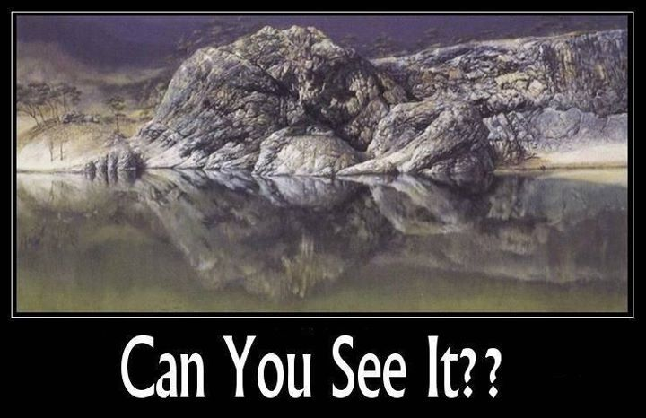 The Hidden Monster From The Lake Very Funny Pictures Tumblr