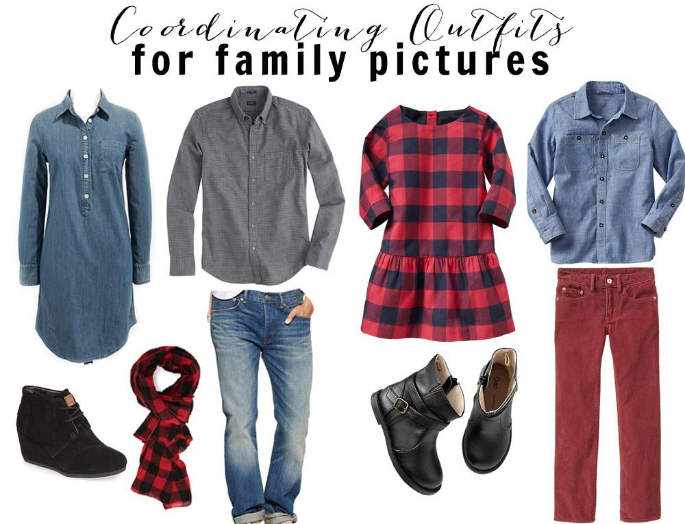 196c68c6cfaab Coordinating Outfits for Family Pictures - Fancy Ashley ...