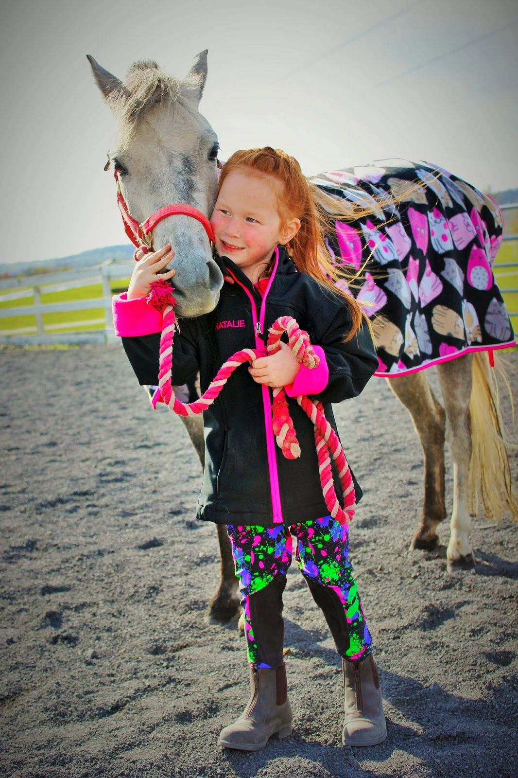 The Pink Pony: The (FUN) schooling tight has finally arrived...