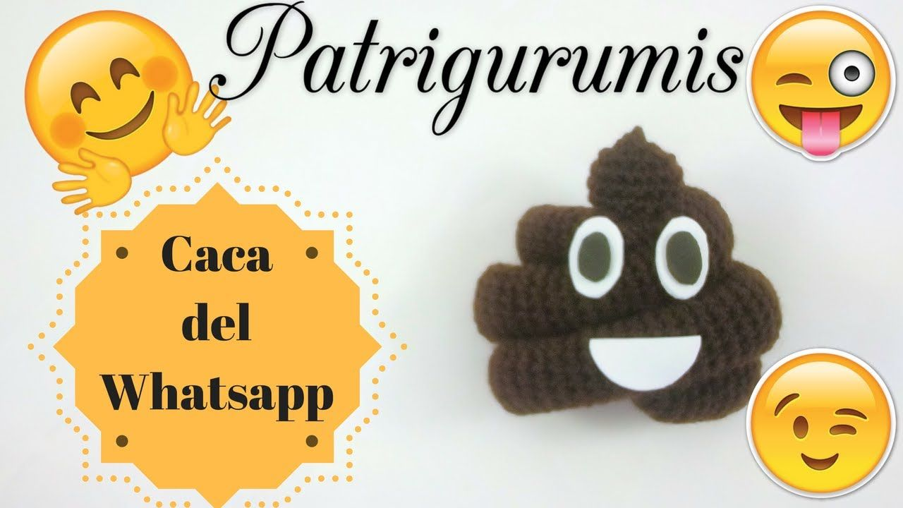 Caca del Whatsapp Amigurumi!! | cat crochet applique | Pinterest ...