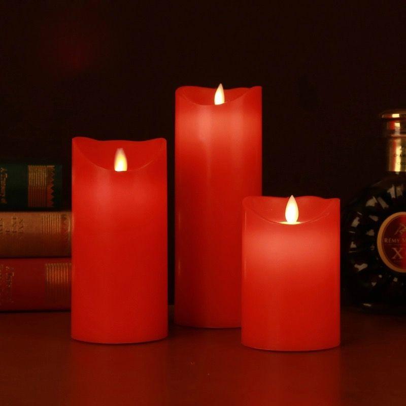 3pc Elegant Wax LED Candle Set: Thisthatshop.com - FREE SHIPPING