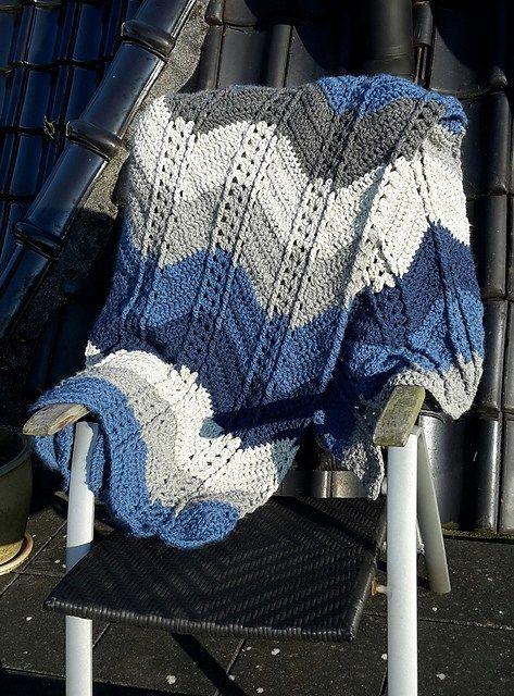 Shell Stitch Ripple Afghan Free Crochet Pattern | Crochet ...