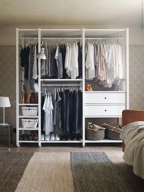 ordnung im kleiderschrank diese tipps helfen beim organisieren hierarchien schaffen. Black Bedroom Furniture Sets. Home Design Ideas