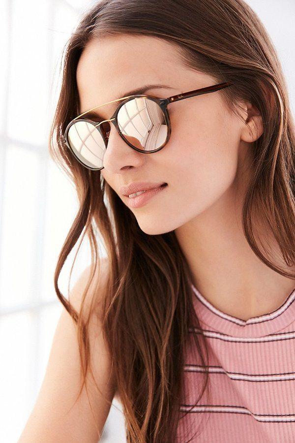 4d083827e5 Ray-Ban Tech Light Round Aviator Sunglasses -  225.00 ...