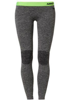 PRO HYPERWARM - Leggings - black, lime green, grey