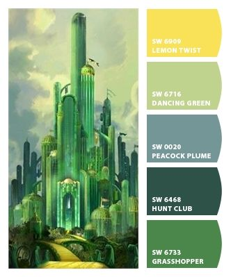 wizard of oz i love emerald green! #wizardofoz #wizard #oz #emerald #movie  #paint #color #scheme #palette #colorpalette #movie #planning #interior #design #art #mostwantedfineart -#TagsForLikes #picture #artist #artsy #instaart #beautiful #instagood #gallery #masterpiece #creative #instaartist #graphic #graphics #artoftheday #arts #fineart #painting #paint #museum #giveaway #pittsburgh