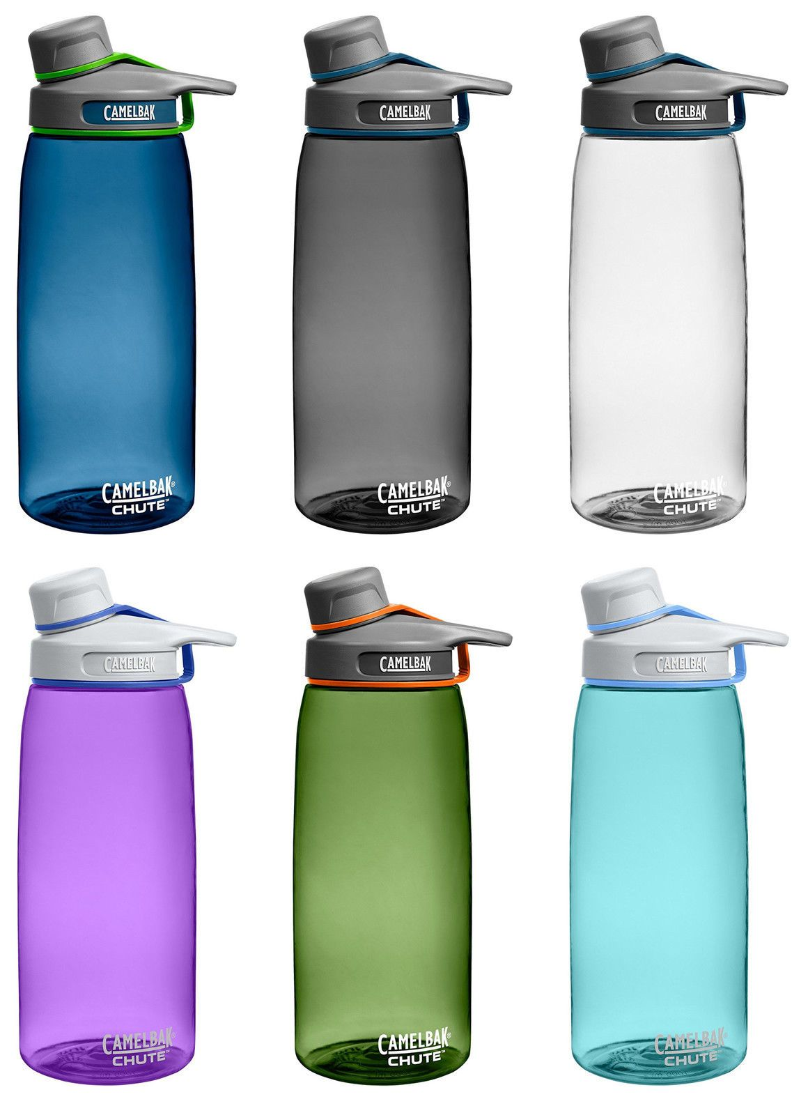 CamelBak Chute 1L Water Bottle, 7 Colors 1 of 2FREE Shipping