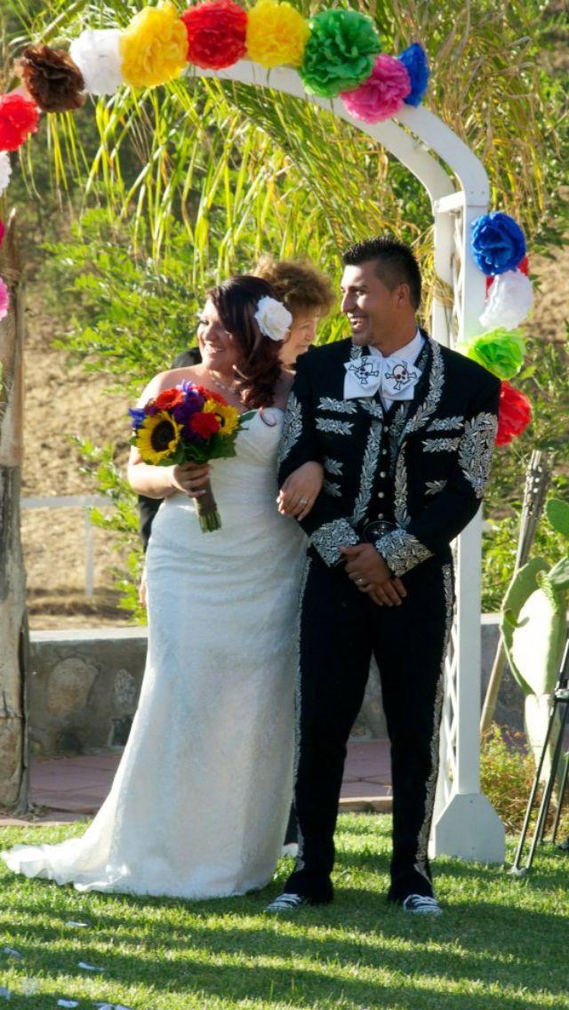 Plus size mexican wedding dress