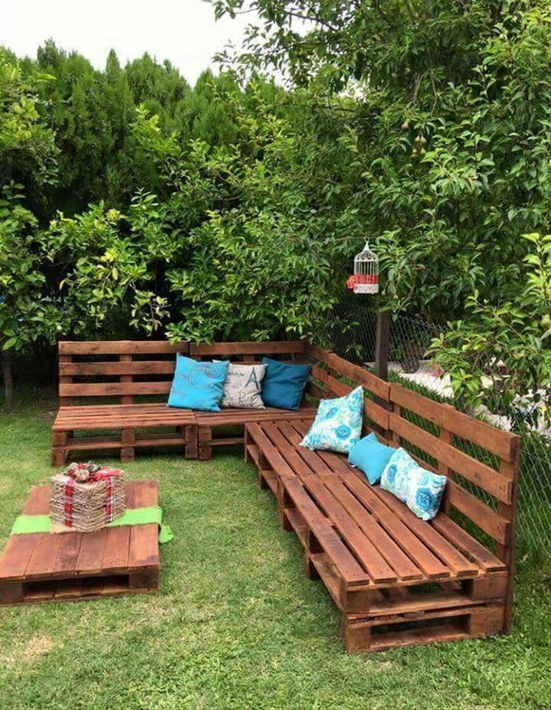 Love Outdoors Pallet Patio Furniture