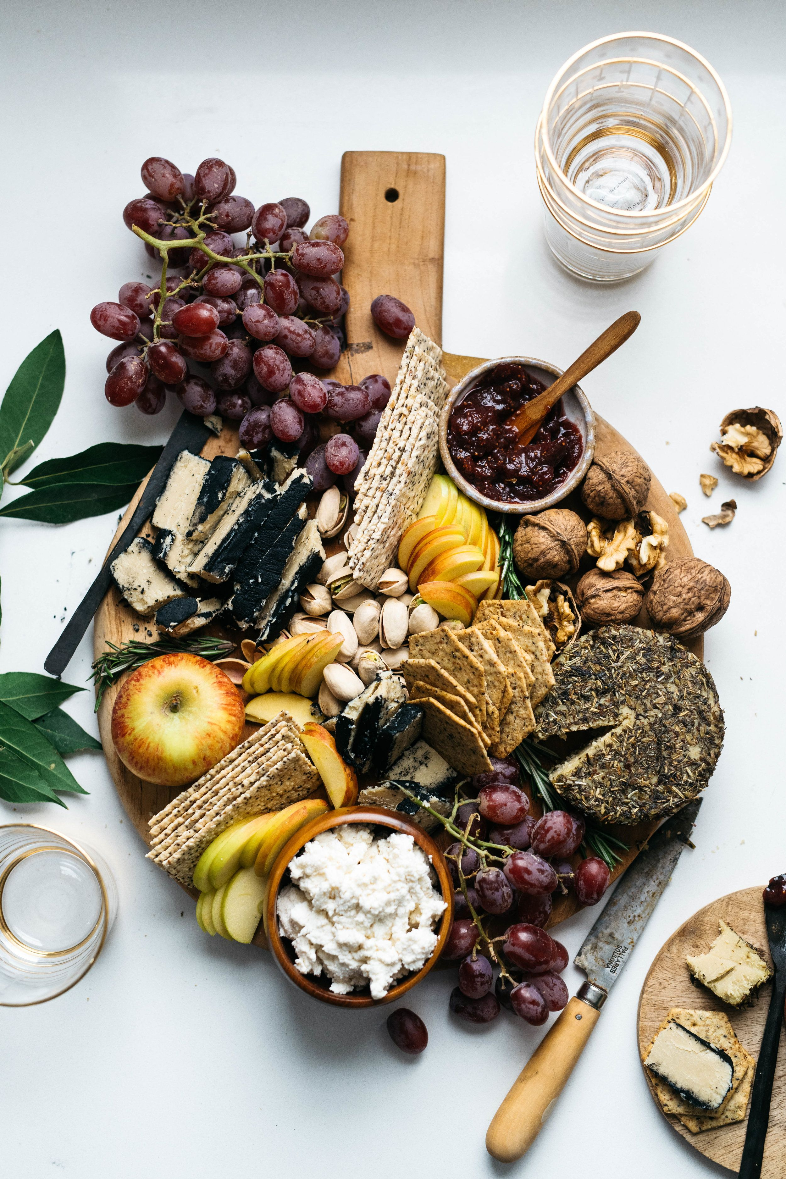 Your Go To Vegan Cheese Board How To Pair It With Wine Vegan Cheese Boards Vegan Wine Charcuterie And Cheese Board