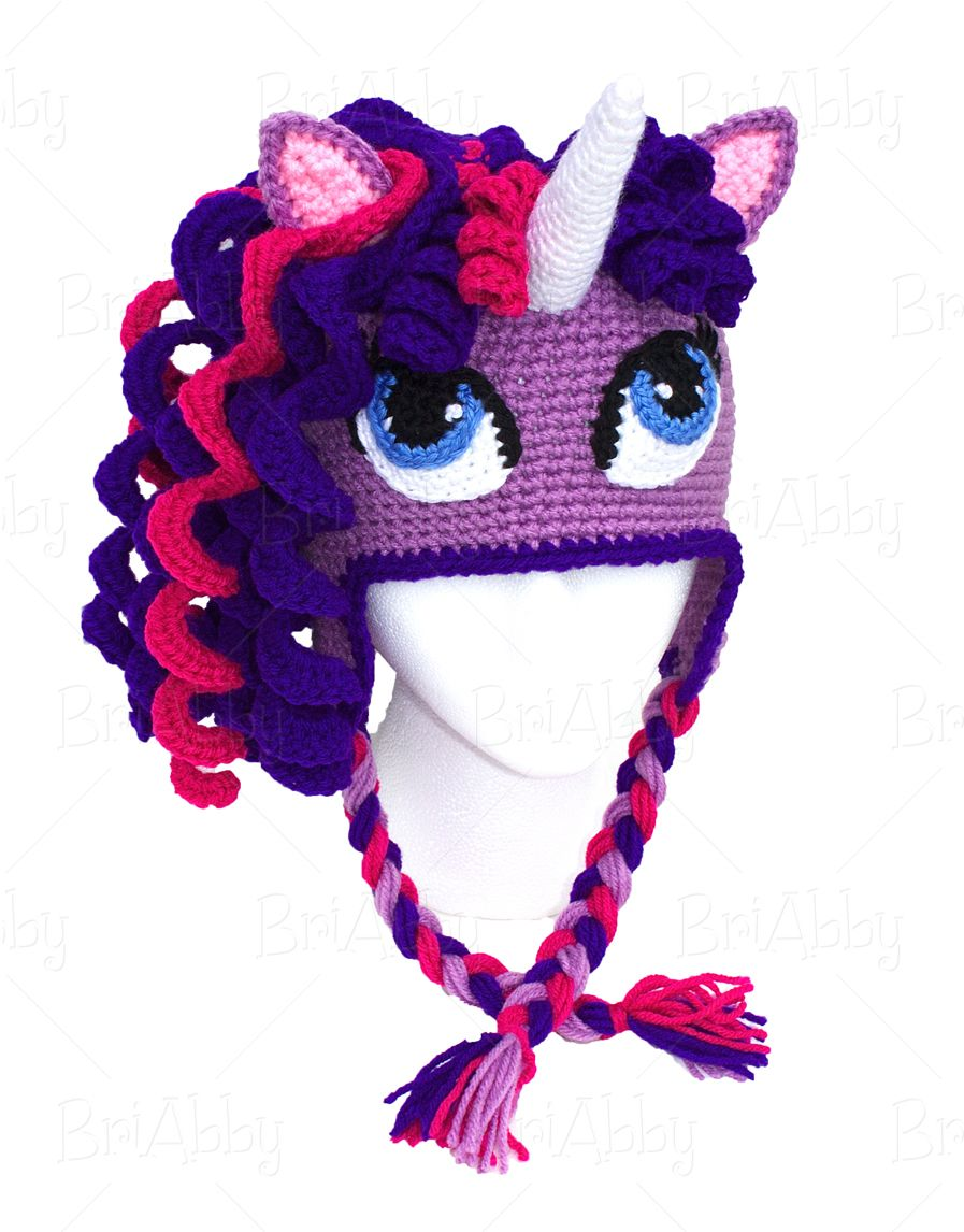 crochet pony hat pattern | Crocheting | Pinterest | Gorros