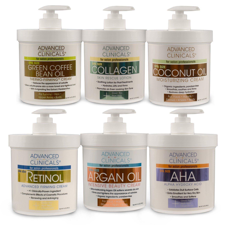 Amazon com : Advanced Clinicals Coconut Moisturizing Cream