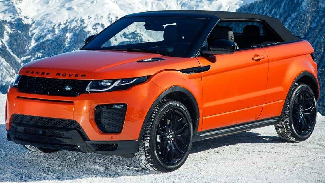 Land Rover Range Rover Evoque Convertible Hse Dynamic Range Rover Evoque Convertible Convertible Tata Motors