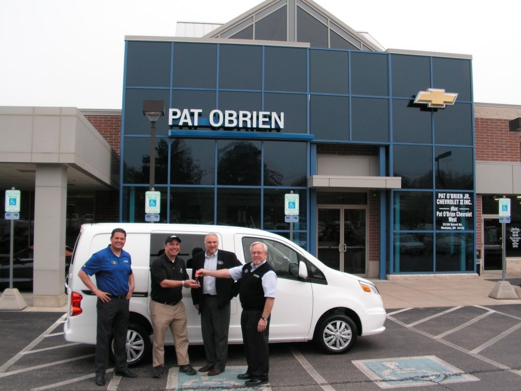 Delightful Today, The Helpful Commercial Truck Team At Pat Ou0027Brien Chevrolet (Westlake,  Ohio) Transferred The Keys To A Brand New 2015 Chevy #CityExpress Delivery  Van ...