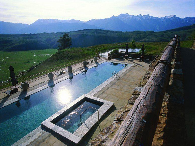 Amazing Hotels With Stunning Views Condé Nast Traveler Amangani Jackson Hole