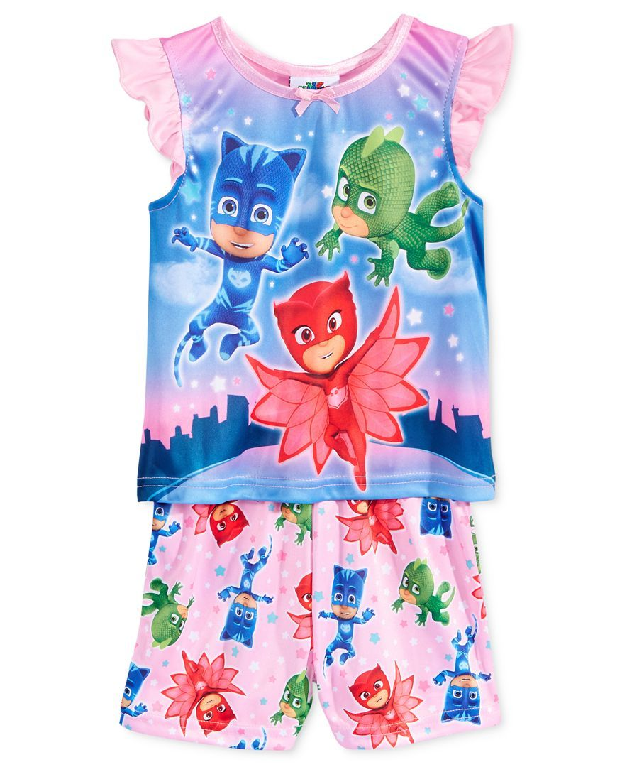 Pj Masks 2 Pc. Pajama Set, Toddler Girls (2T 5T)