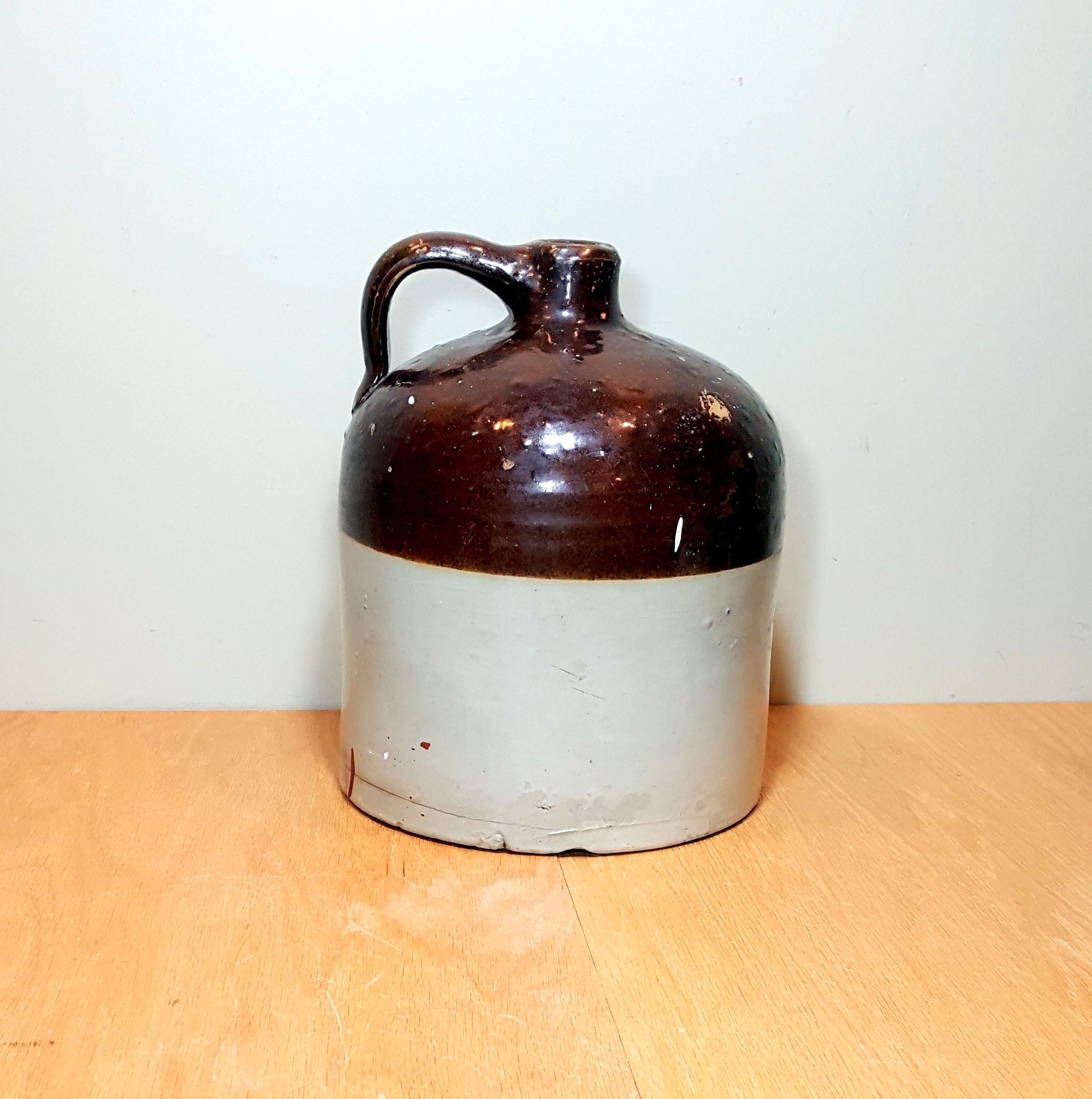 PRIMITIVE ANTIQUE JUG Crockery Pottery Vintage Rustic