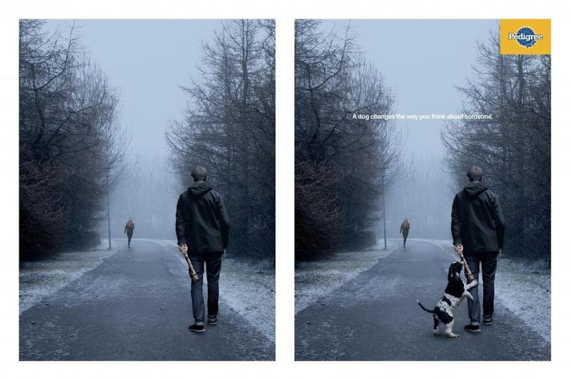 Perspective Shifting Pooch Ads Print Ads Good Advertisements