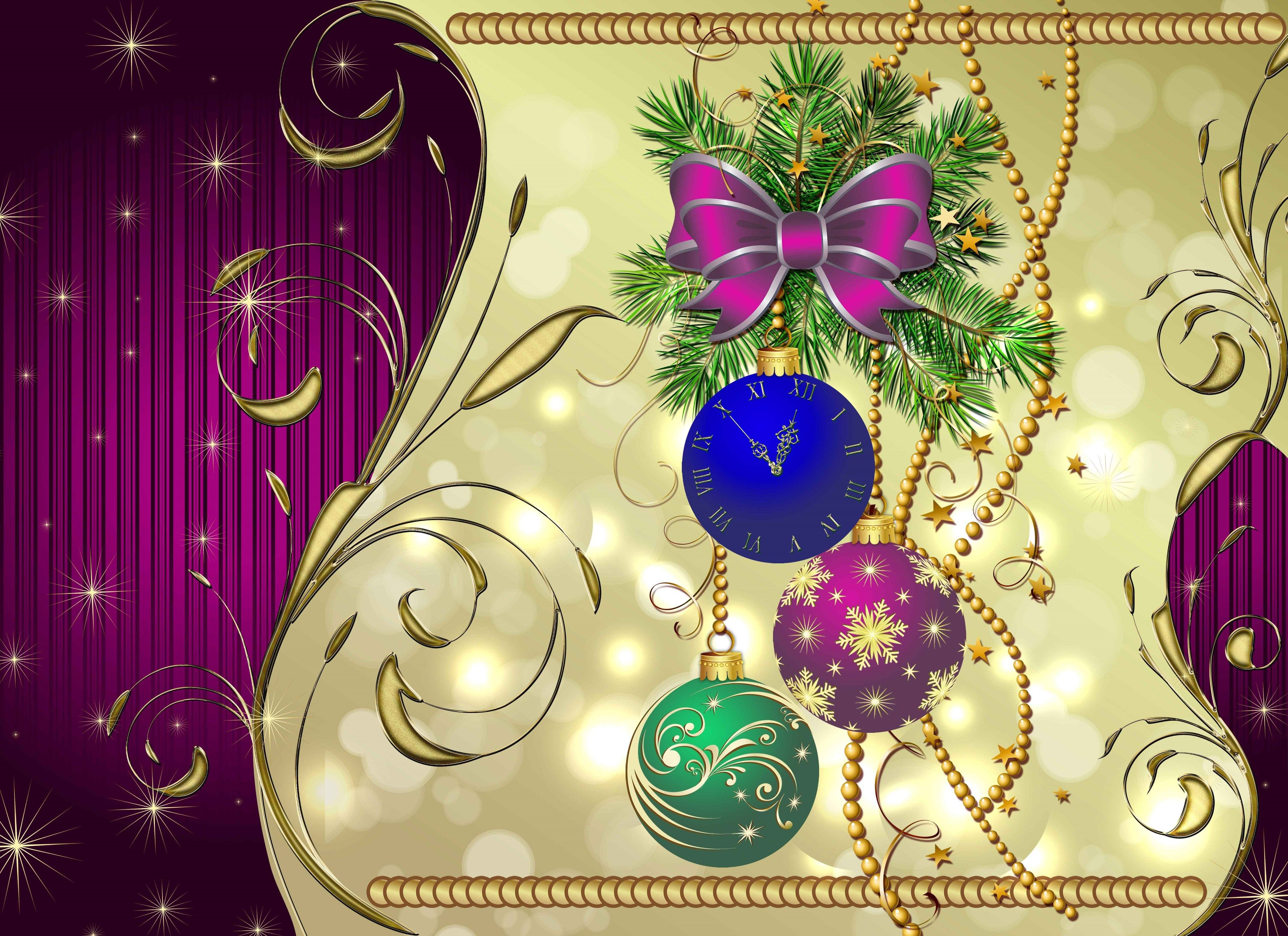 4k New Year Hd Wallpaper 4126x3000 Wallpapers And