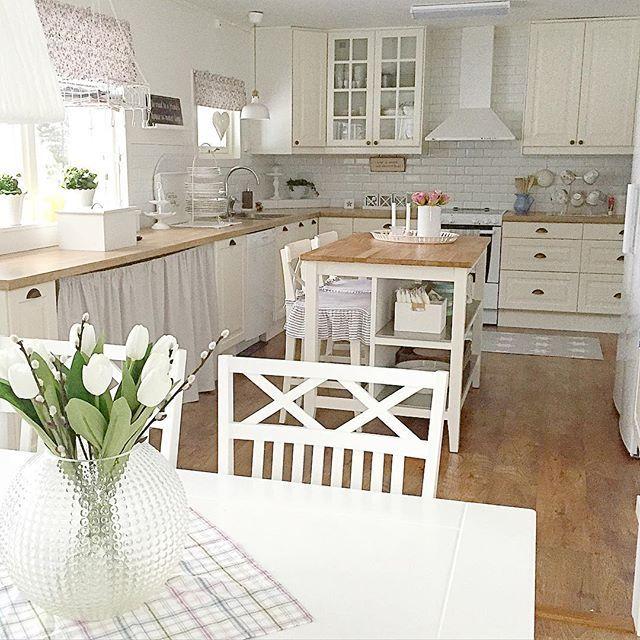 Shabby and Charme: White and grey per una bella casa svedese ...