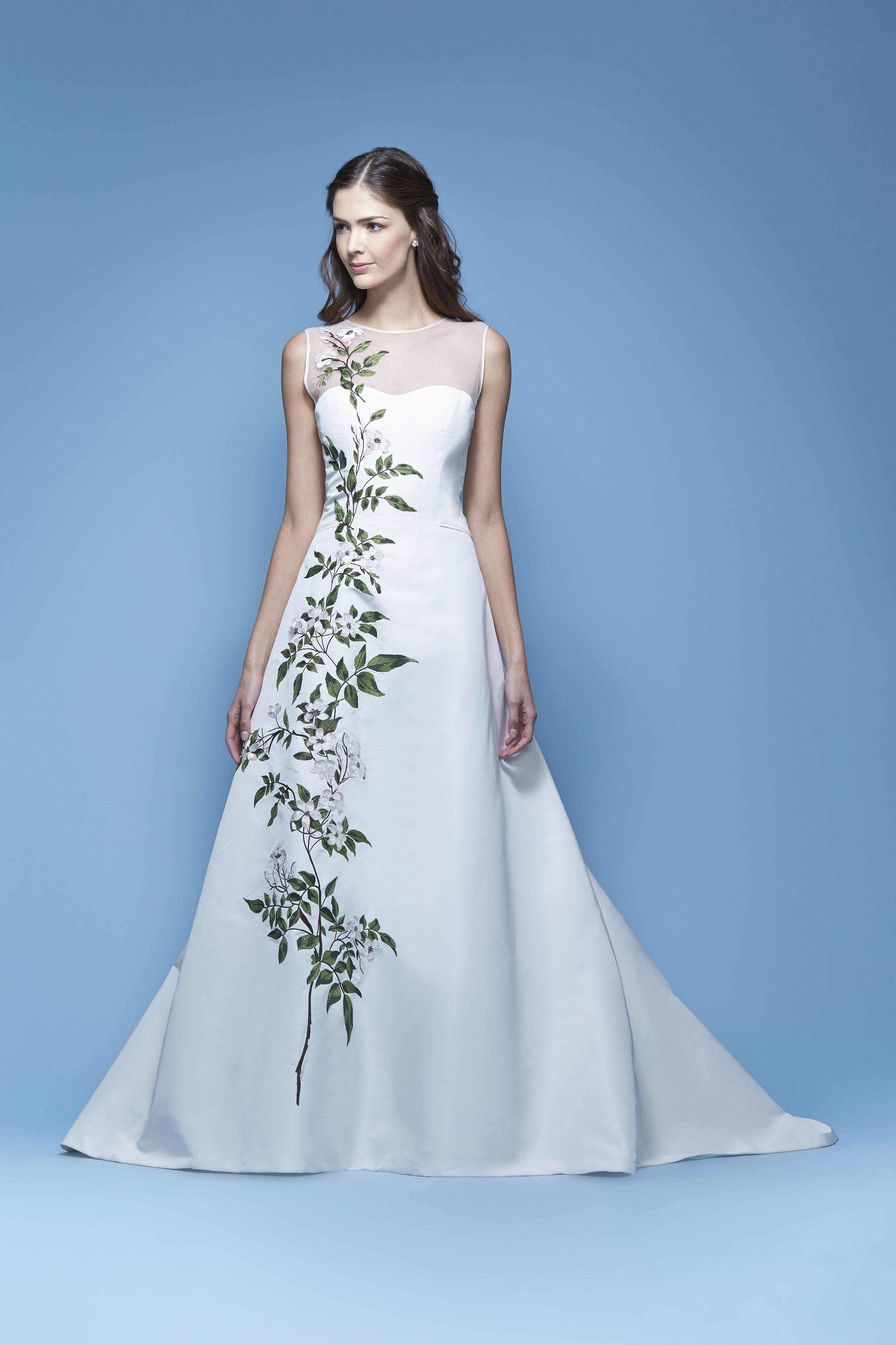 Carolina Herrera Bridal Spring 2016 \'Jasmine\' bridal gown   Vestidos ...