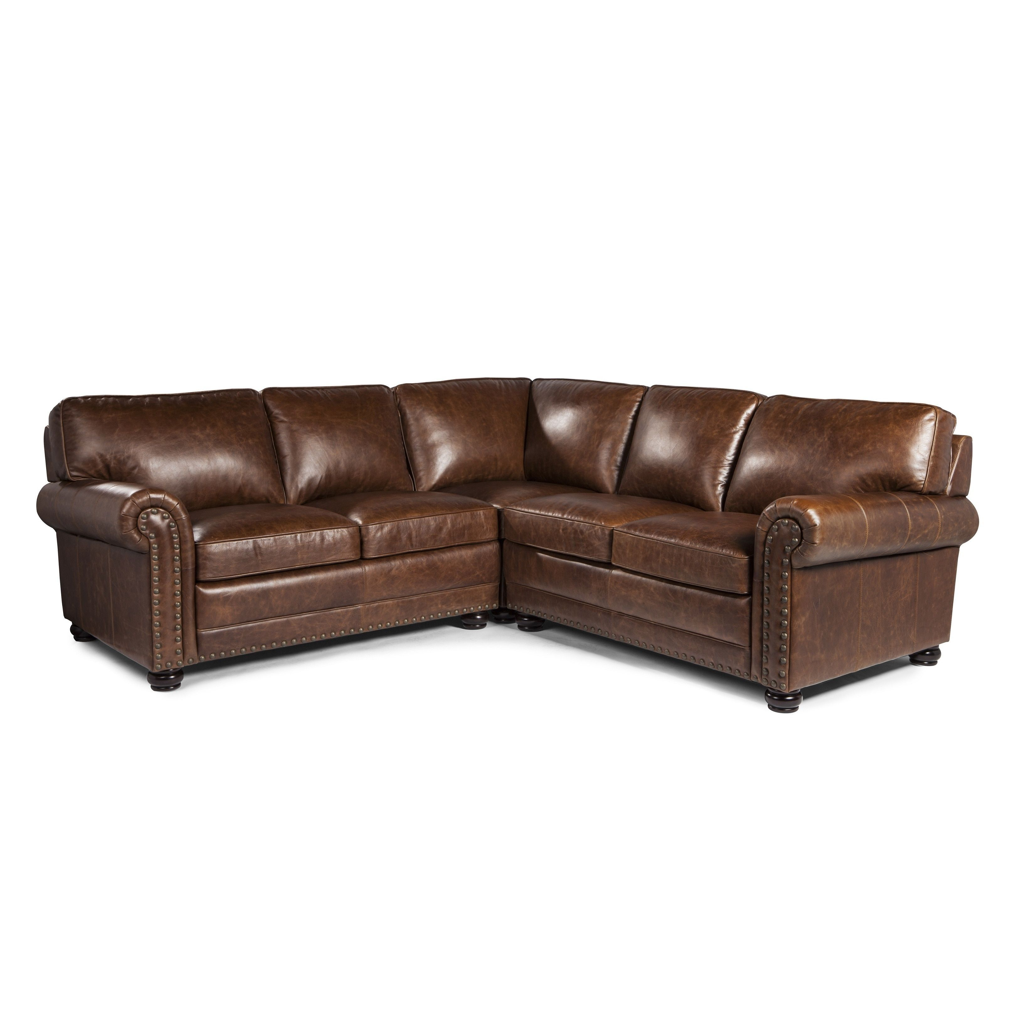 Tremendous Genesis Cocoa Brompton Leather Sofa Sectional By Lazzaro Gamerscity Chair Design For Home Gamerscityorg