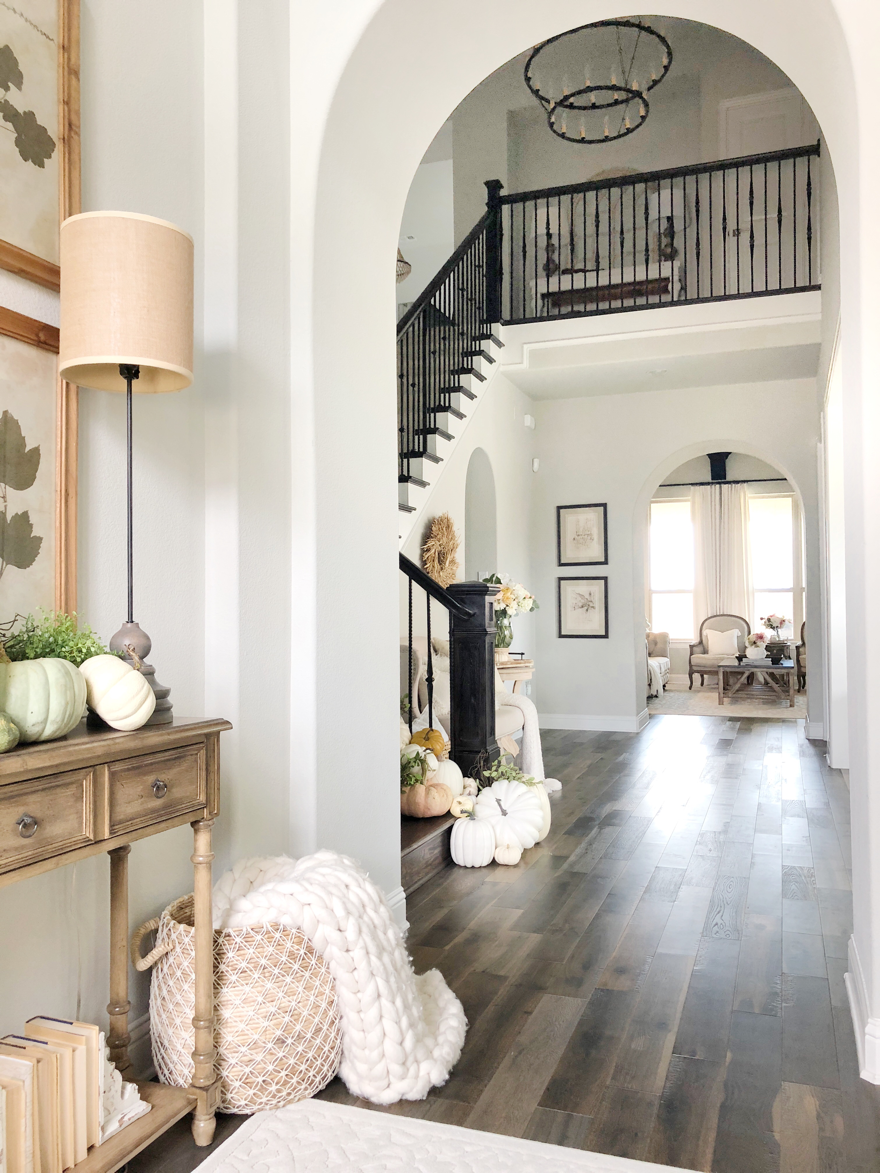 Welcoming Fall Home Tour-Rustic Chic Style  Texas home decor