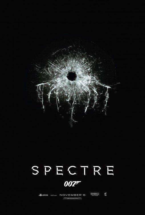 Official Poster For Bond 24 Spectre Com Imagens 007 Contra