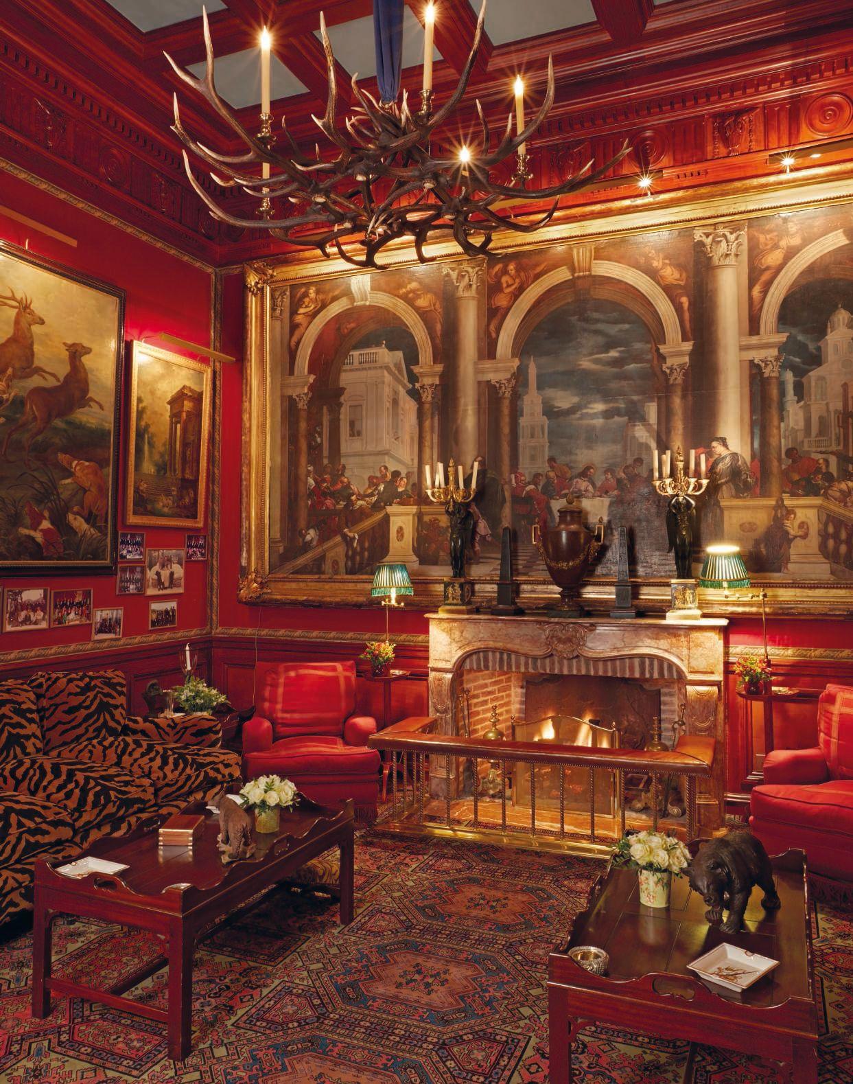 Inside The Beautiful World Of Robert Zellinger De Balkany The Interior Of Pavillon De Ribourg Chateau De Opulent Interiors House Interior Decor World Decor