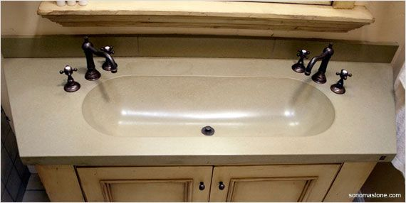 Genial Small Bathroom Ideas From Our Experts. Trough Sink ...