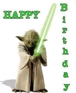 Yoda Birthday Quotes. QuotesGram | seasonal/holidays ...
