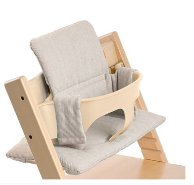 Stokke Tripp Trapp Grey Loom Cushion Chair In Natural