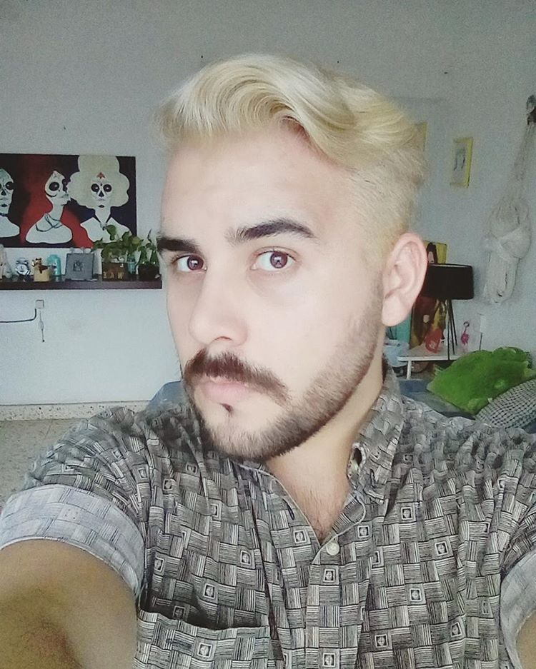 blonde #men #black #beard #handsome #fashion @kikabardales #newlook ...