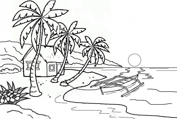 Baru 30 Gambar Imajinasi Pemandangan Pantai Gambar Mewarnai Pemandangan Mudah Beserta Contoh Romadecade Download Contoh Di 2020 Drawing Lessons Gambar Buku Gambar