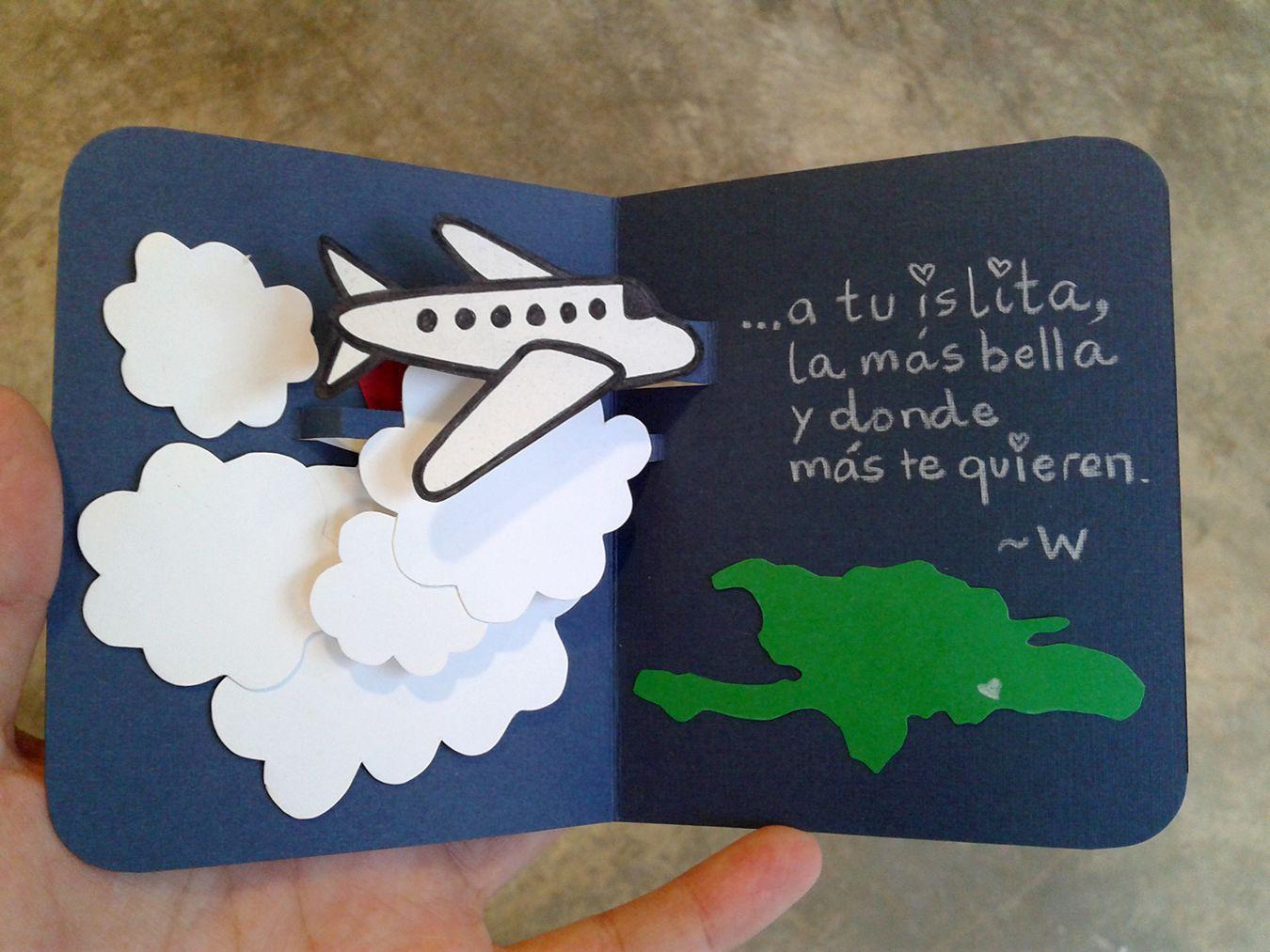 Welcome Back Pop Up Card 3 Tarjetas De Viaje Tarjeta De