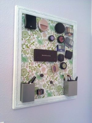 magnetic make up holder aufbewahrung f r schmuck schminke pinterest schmuckaufbewahrung. Black Bedroom Furniture Sets. Home Design Ideas