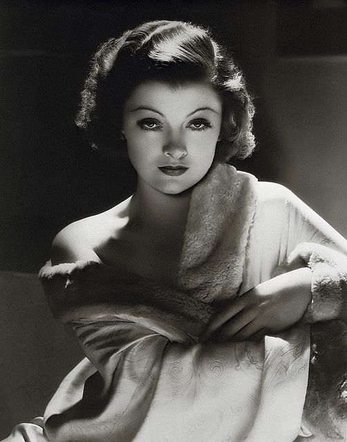 """Myrna Loy(August 2, 1905 – December 14, 1993) was an American actress. She was originally typecast in exotic roles, often as a vamp or a woman of Asian descent, but her career prospects improved following her portrayal of Nora Charles in The Thin Man (1934). In 1937, she was crowned the """"Queen of Hollywood"""" by a nationwide poll."""
